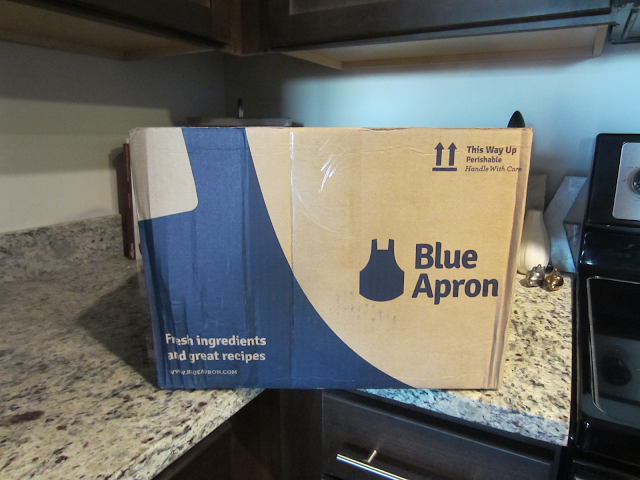 Bue Apron Meal Delivery Box