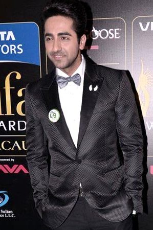 Ayushmann Khurrana in Gucci at IIFA