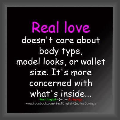 about real love