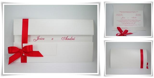 Casamento de Joice e André, Modelo Armação 00.