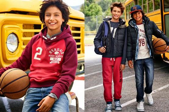 colección ropa niños otoño invierno 2014 2015 H&M