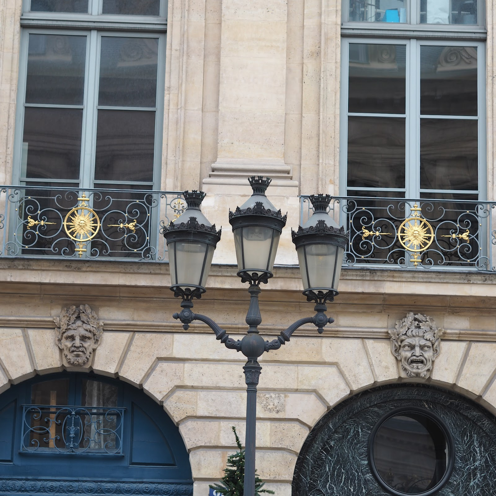 Lamp in Place de vendome, Paris
