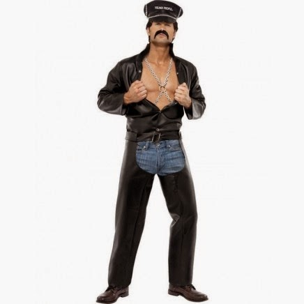 Disfraz de Village People Motero