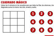 CUADRADO MÁGICO 3x3