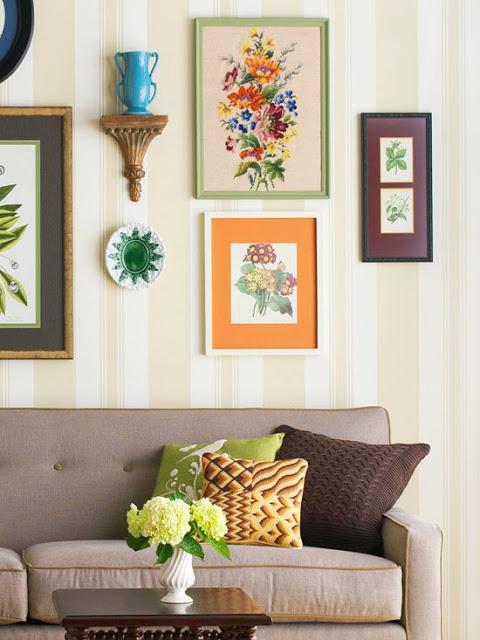 Retro y con encanto mensula mensulae - How to decorate living room cheap ...