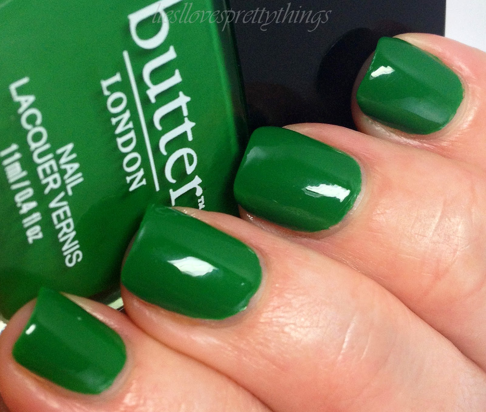 butter LONDON Summer 2014 Lolly Brights-- Sozzled Nail Lacquer swatch and review