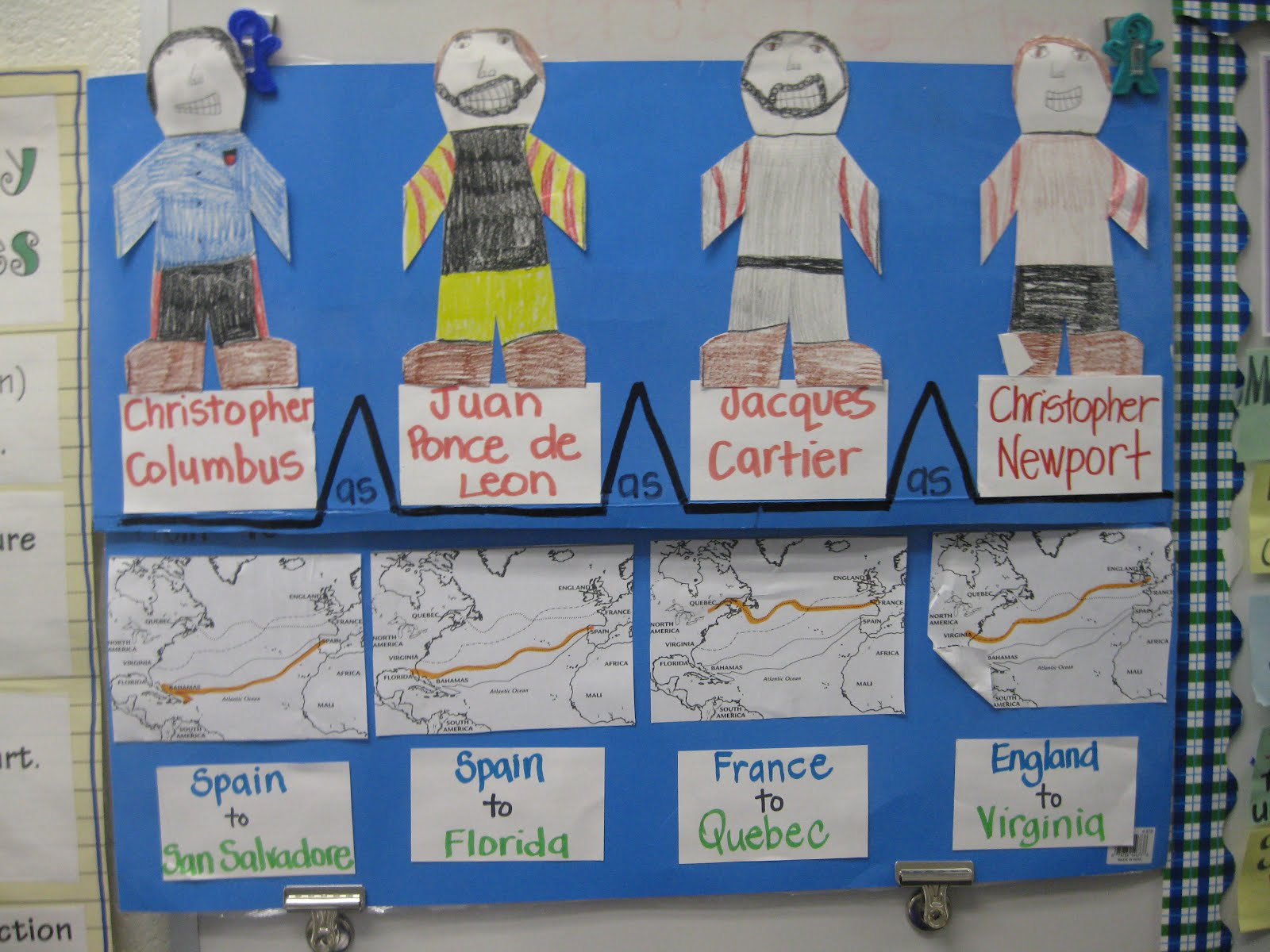 Third Grade Thinkers A Make And Take Explorer Study Guide - Florida map activities 4th grade