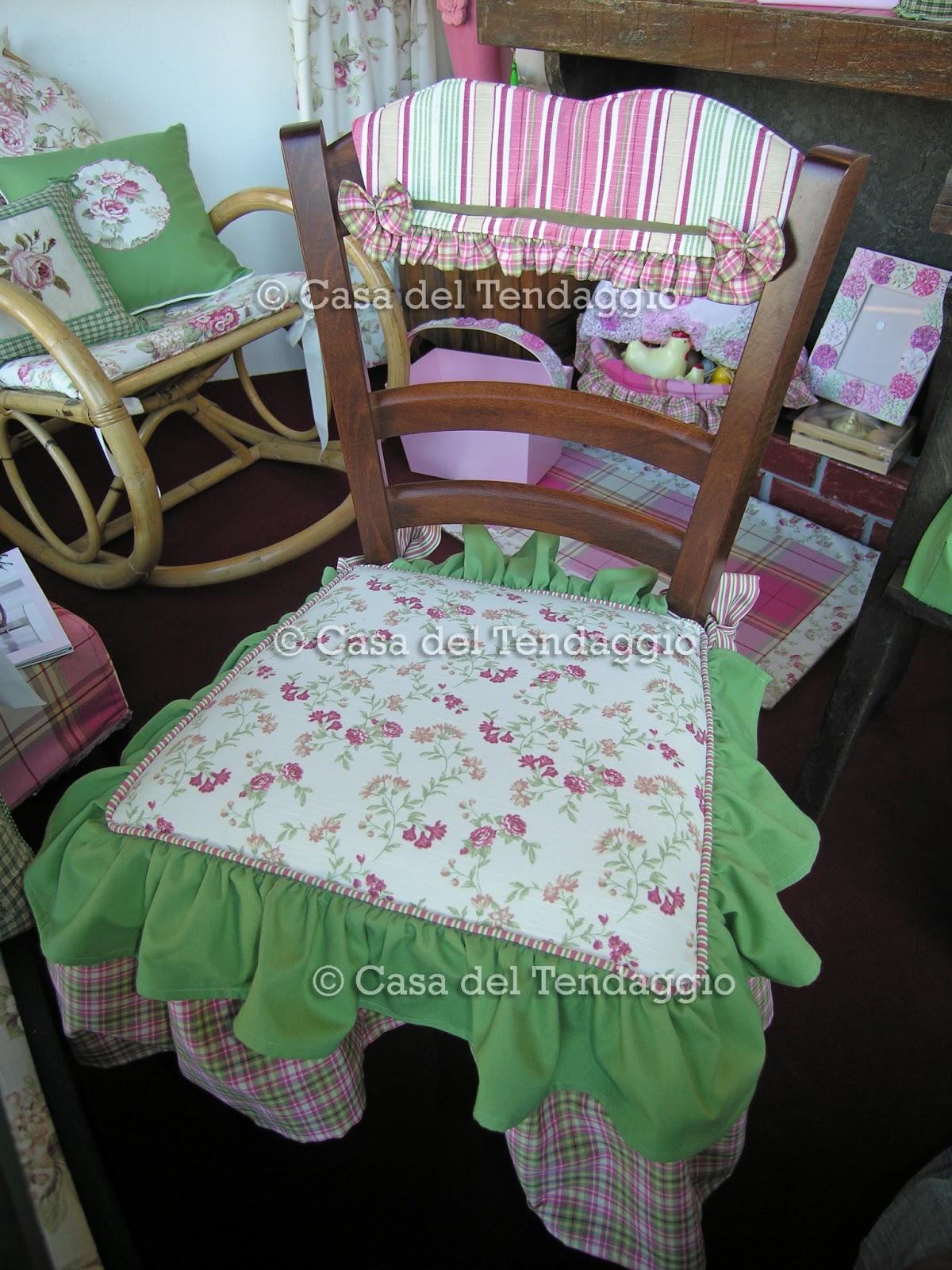 Cuscini per sedie tendenzialmente country - Coordinati cucina country ...