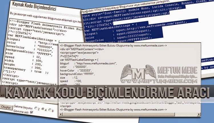 Kaynak kodu biçimlendirme aracı