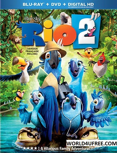 Rio 2 2014 Hindi Dubbed Dual Audio DD 5.1 BRRip 720p