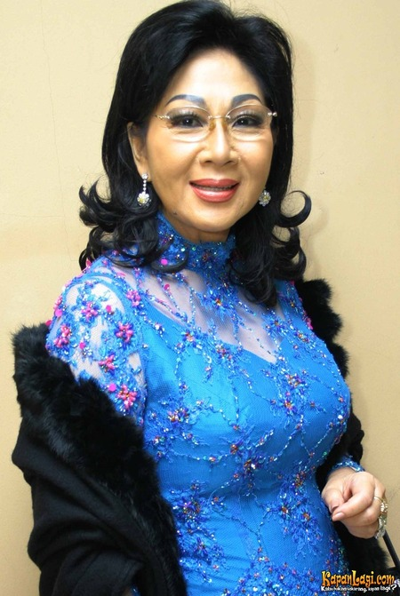 "Titiek Puspa, A Professional Indonesian Actress  ""An Honorable Indonesian Mother"""