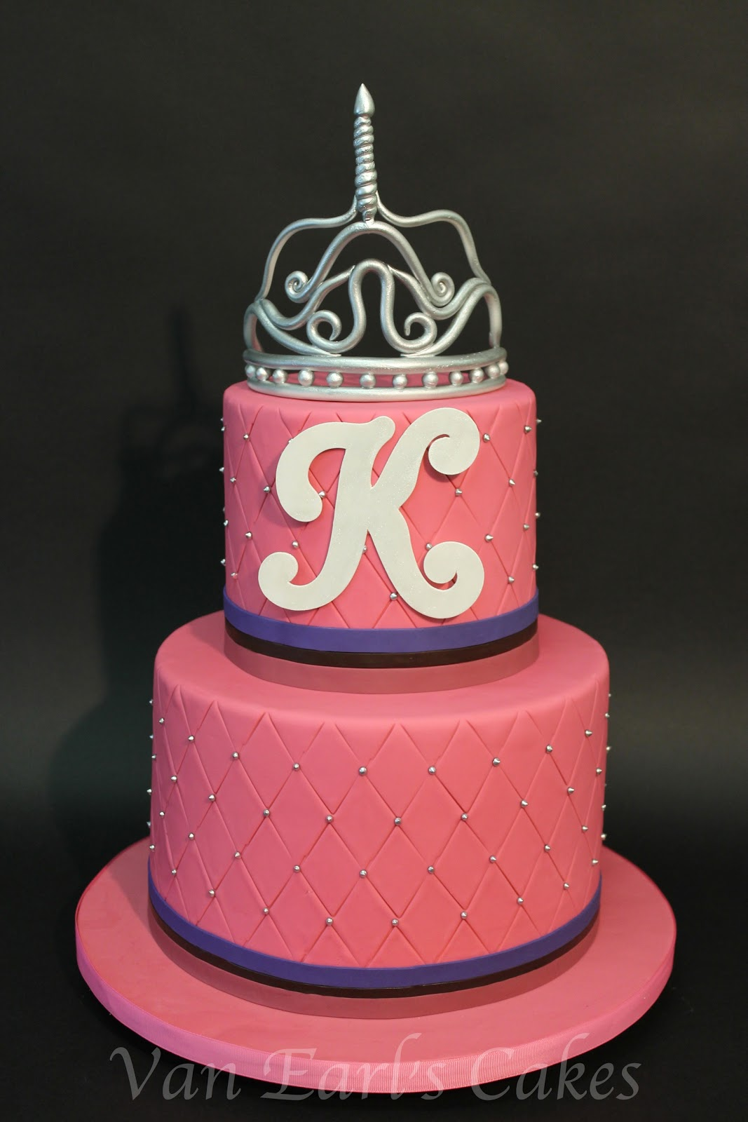 van earl 39 s cakes princess theme baby shower cake
