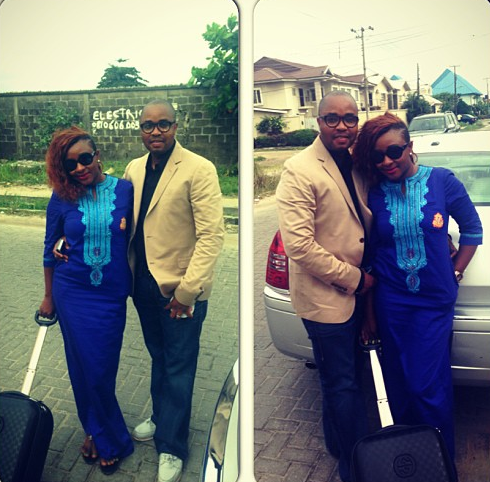 That's Ini  Edo and Hubby Off to London for Second Honeymoon chiomaandy.com