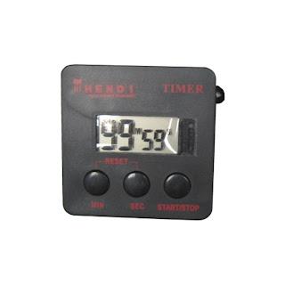 Timer digital pentru bucatarie, din plastic cu 99min59s , Baterie inclusa 67x67mm
