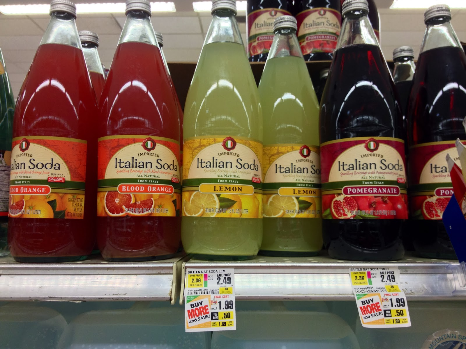 Shoprite can can sale 2015 - Imported Italian Soda At Shoprite Contains Only 2 Juice Pomegranate To 12 Juice Blood Orange And Lemon
