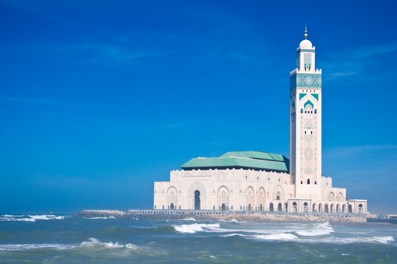 Hasan Mosque Morocco