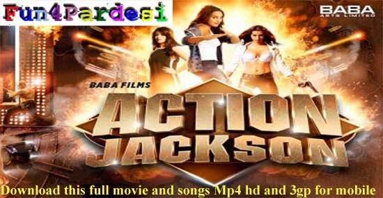 Latest Bollywood Movie Action Jackson 2014