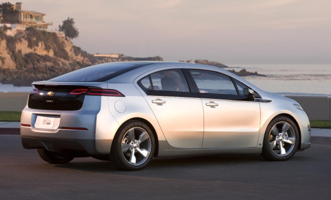 Chevrolet Volt from the side