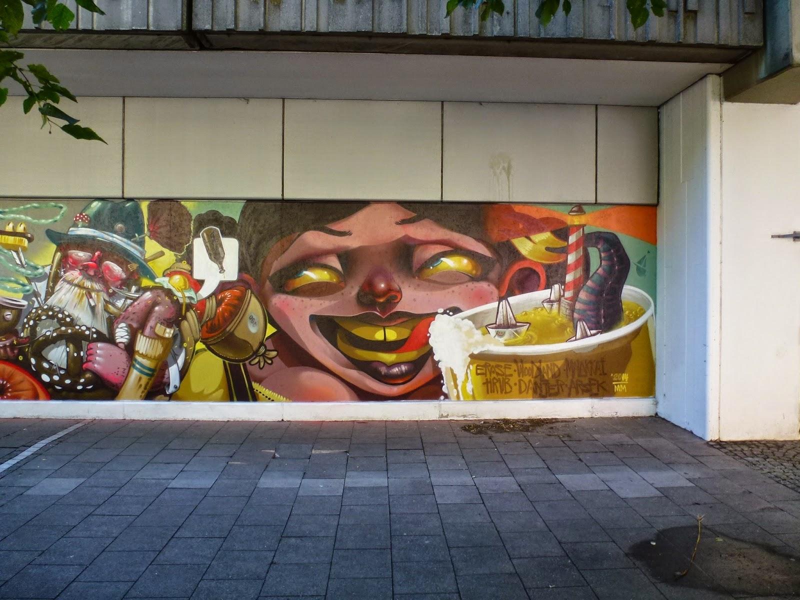 Graffiti, Streetart, XXXLutz, München