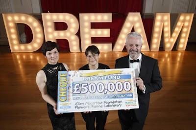 500,000 Ellen MacArthur PPL Cheque