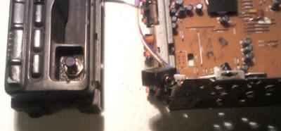 SONY XR - 1953 кнопка переключения входов.