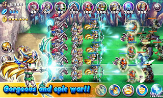 Empire VS Orcs android oyunu