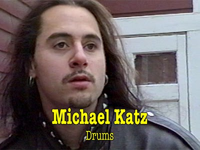 Michael Katz, drums for the band Flesh.