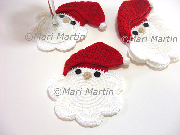 Free Crochet Santa Claus Coaster Pattern : octubre 2010 ~ Crochet Colorful