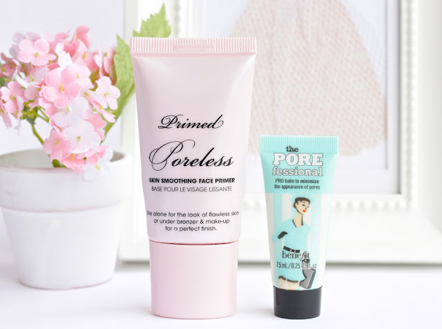 My Favorite Face Primers / Too Faced Primed and Poreless vs. Benefit POREfessional