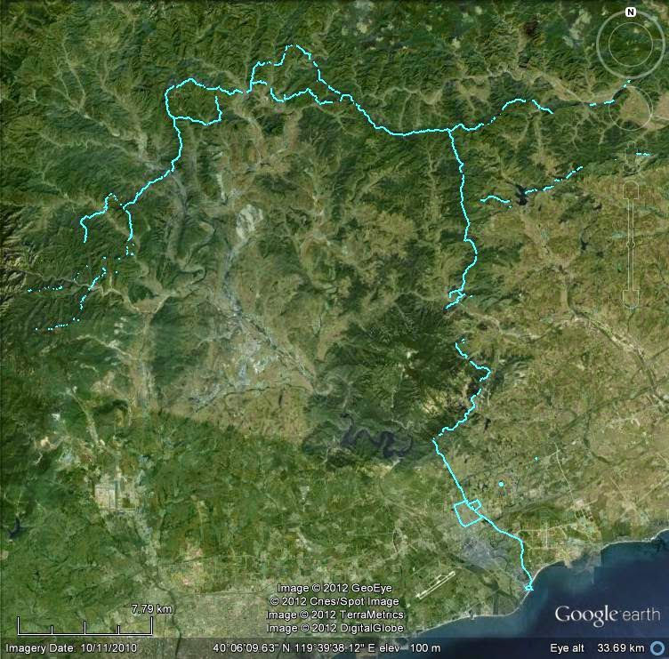 Great Wall Of China Google Maps - Free Usa Maps