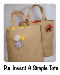 Re-Invent A Simple Tote