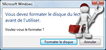 حل مشكلة voulez vous formater  ل usb disk  او الهارد ديسك عن طريق dos
