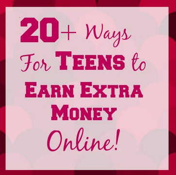 Ways teens can make money