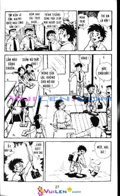 Siêu quậy Teppi chap 6 - Trang 27