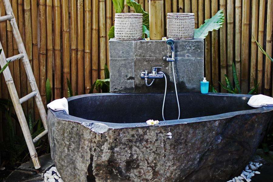 bambus badewanne natur lovina spa