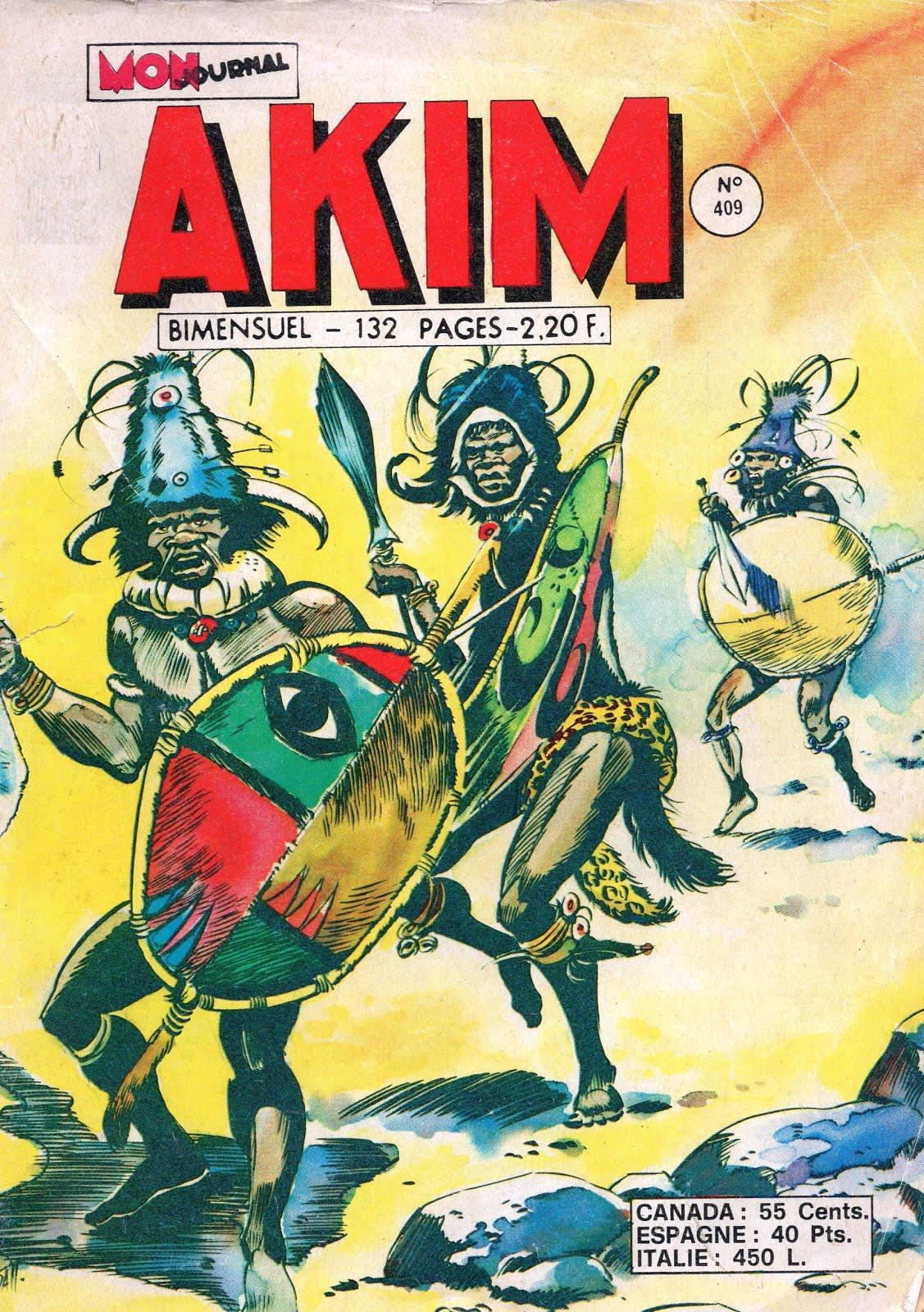 Prochaine publication: AKIM nº 409 (inédit)