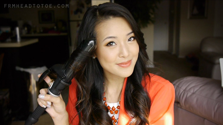 Easy Loose Curls Tutorial From Head To Toe