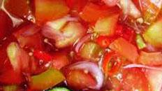 Resep praktis (mudah) sambal dabu dabu spesial (istimewa) khas manado pedas, enak, lezat