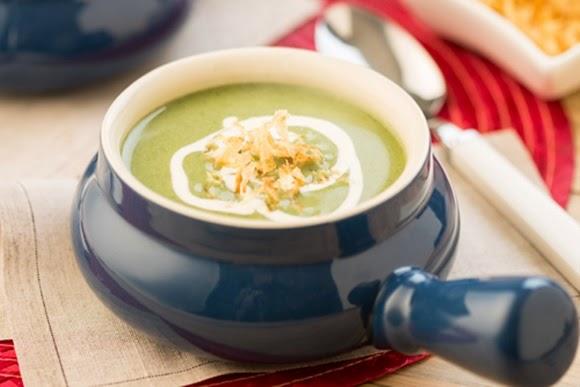 Sopa Especial De Espinaca