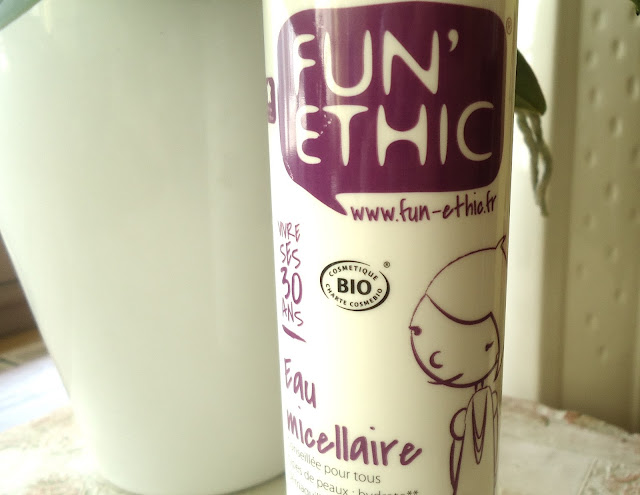 eau micellaire fun ethic
