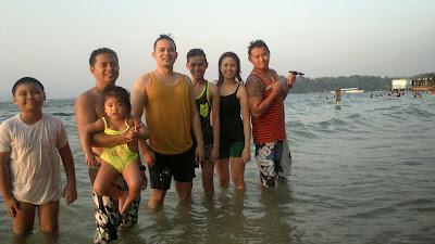 Camayan Beach Resort, New Friends
