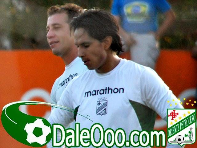 Oriente Petrolero - Marvin Bejarano - Mariano Brau - DaleOoo.com web del Club Oriente Petrolero