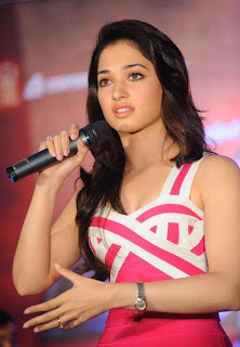 south actress Tamanna Looking Marvellous at Rebel Trailer Launch