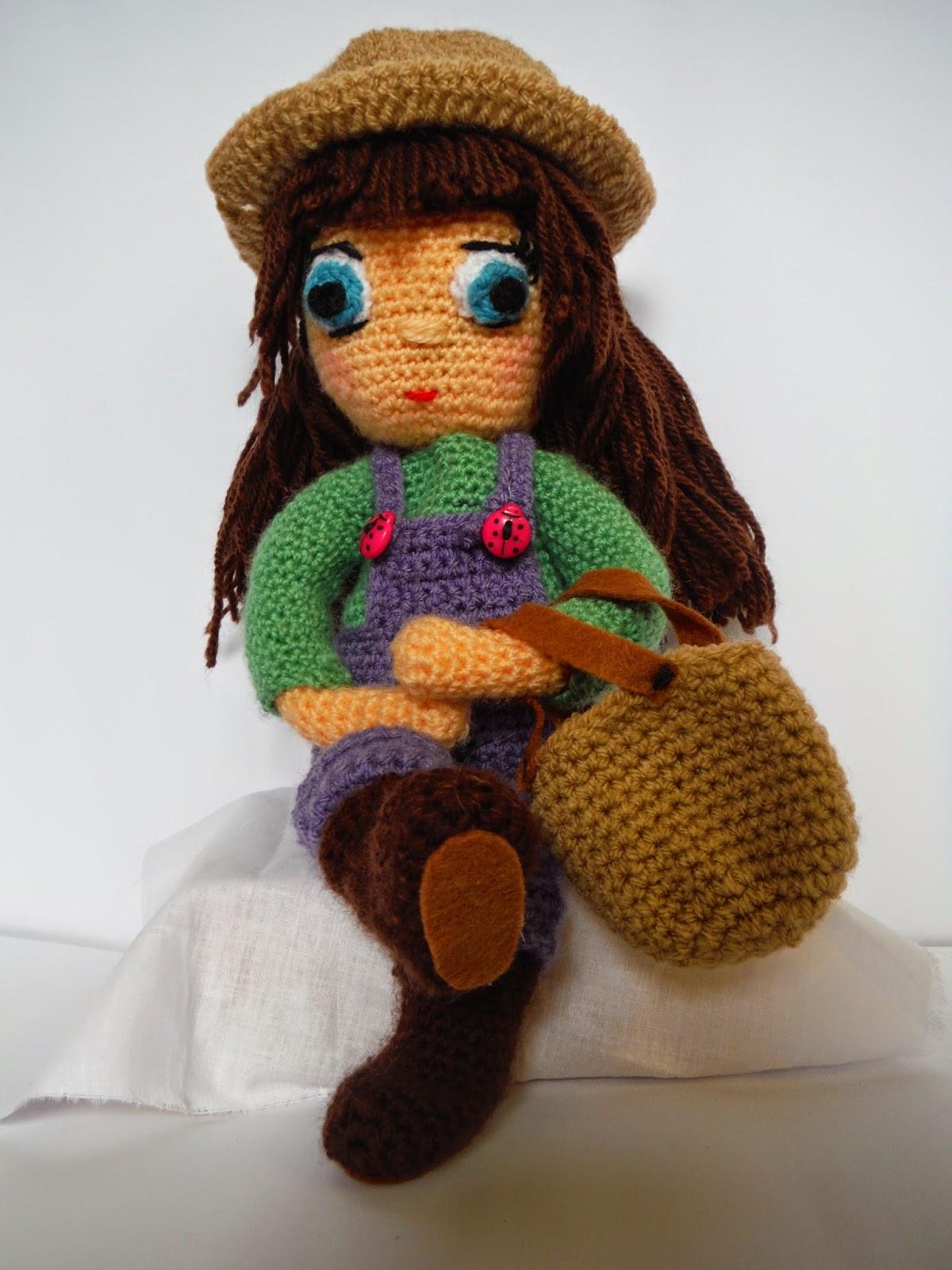 muñeca personalizada amigurumi