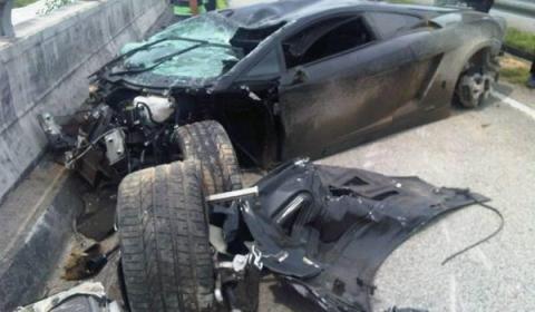 Lamborghini Gallardo Lp560 4 Wrecked In Malaysia Carsfresh