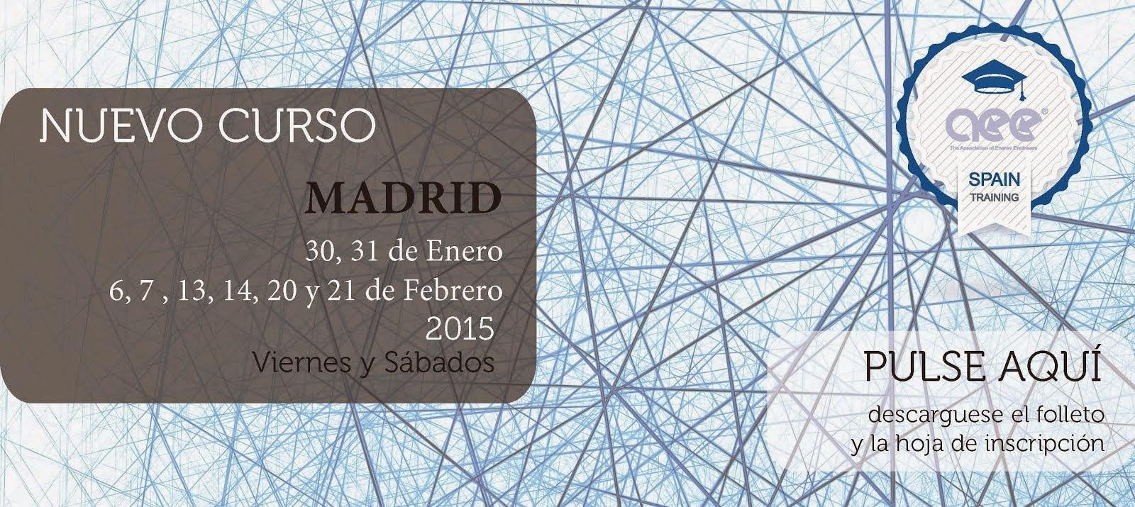 Curso CEM Madrid Enero 2015