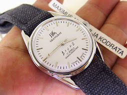 SHANGHAI WHITE DIAL - MANUAL WINDING - KANVAS STRAP
