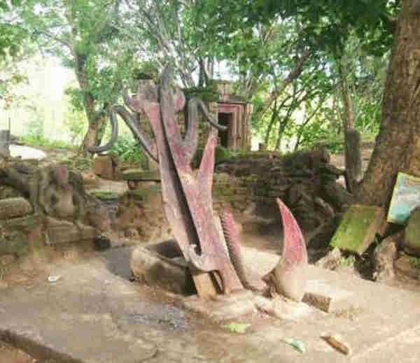 Parsuram's Axe at Tanginath Dham - Gumla - Jharkhand