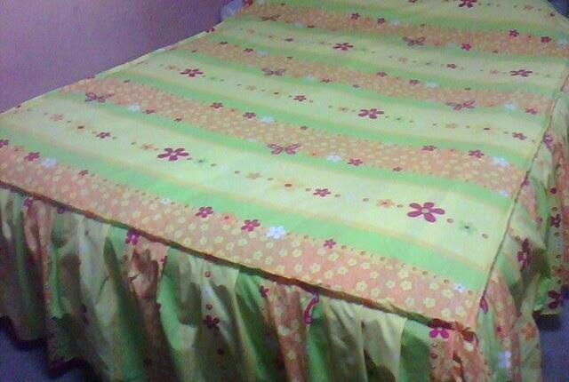 De mis manos tejidos y mas cobertor para cama for Cobertor cama