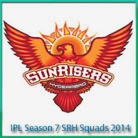 IPL Season 7 SRH Team Profile 2014 IPL 7 Sunrisers Hyderabad Schedule 2014
